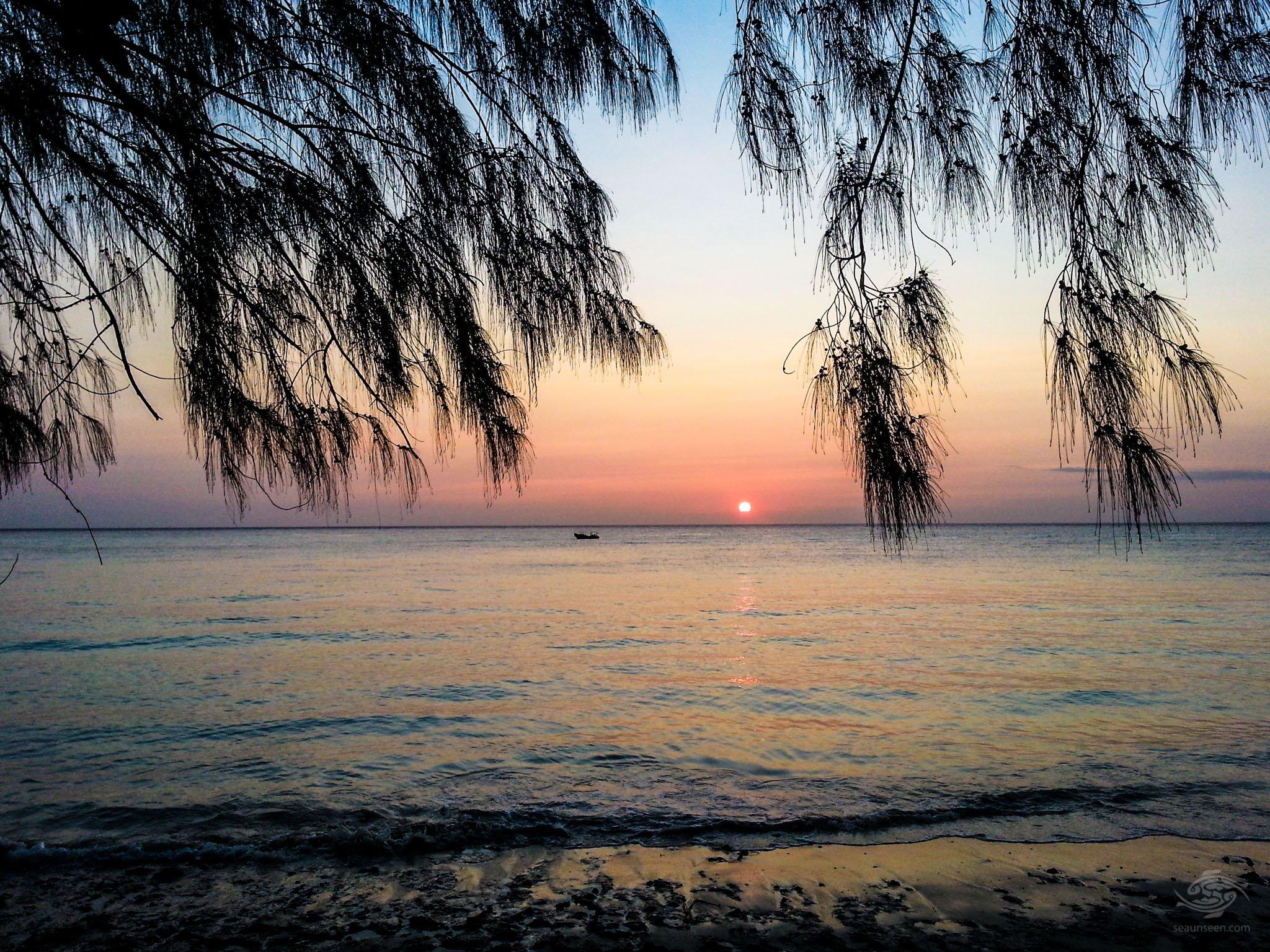 Sunset on Pemba Island