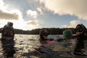 Walden Pond Free-Divers