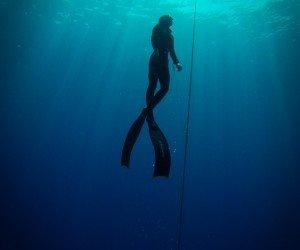 scuba diving freediving
