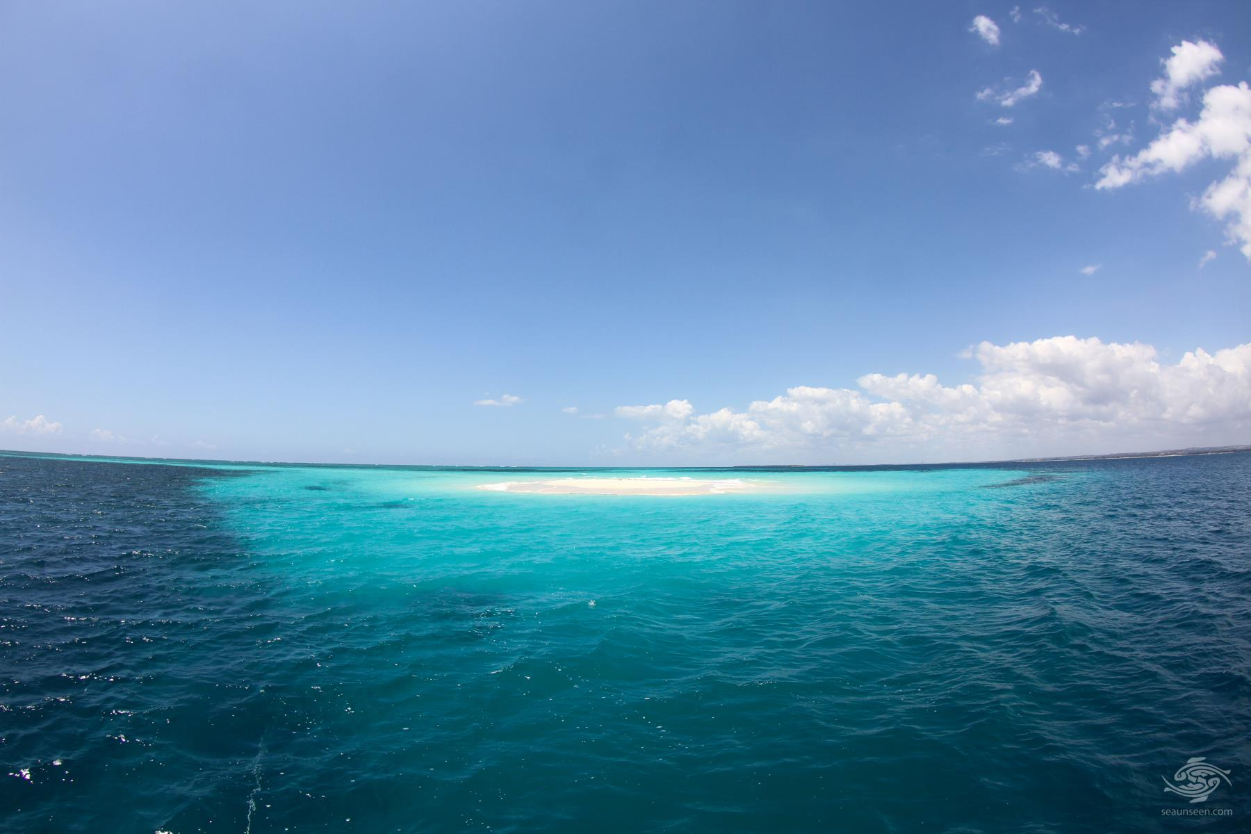 Fungu Yasin sandbank Tanzania