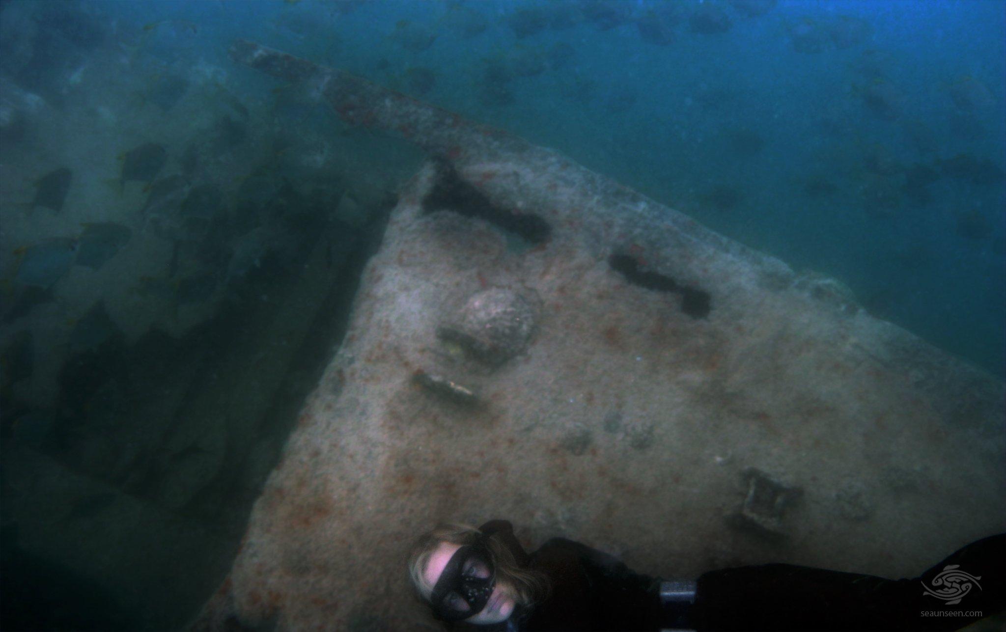 Wreck Free-Diving