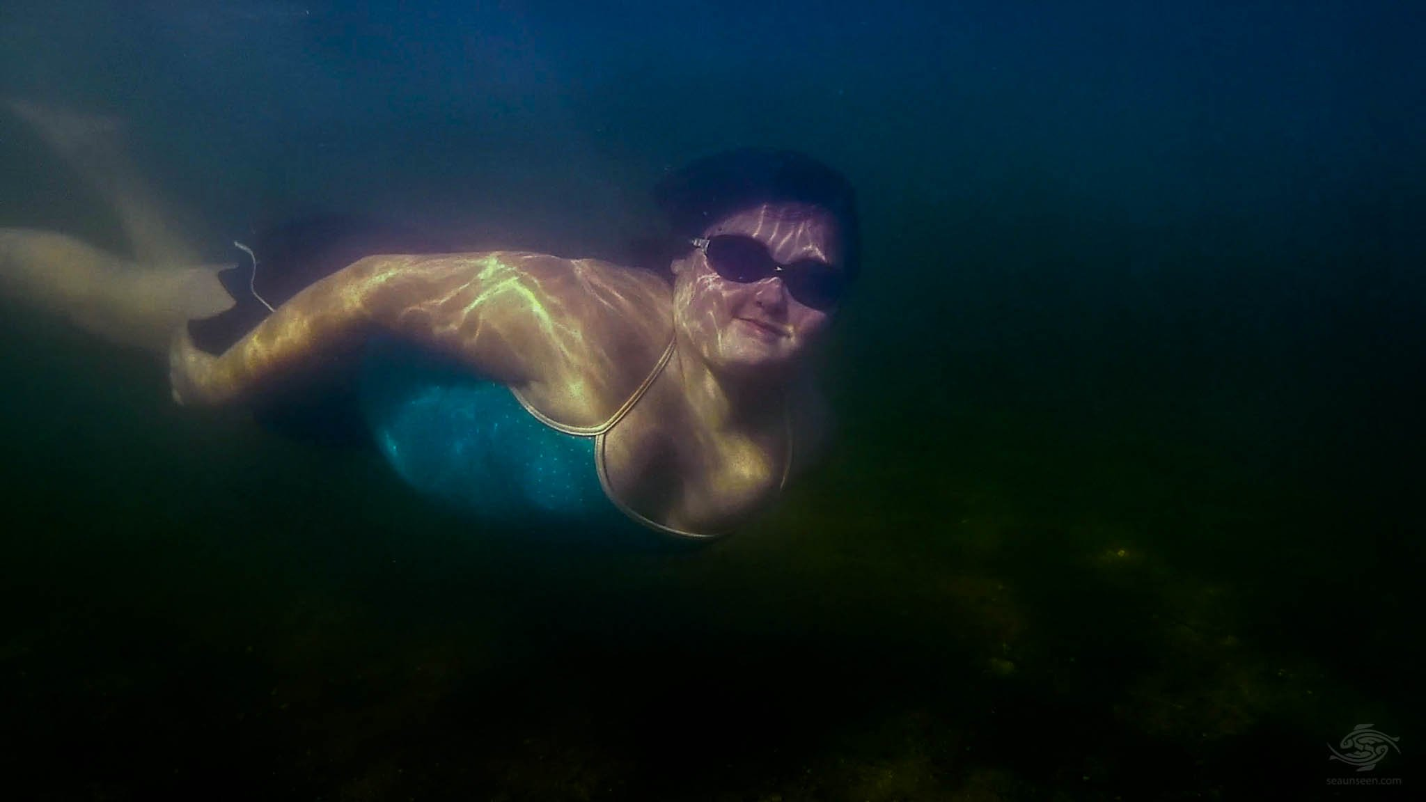 A Young Free-Diver
