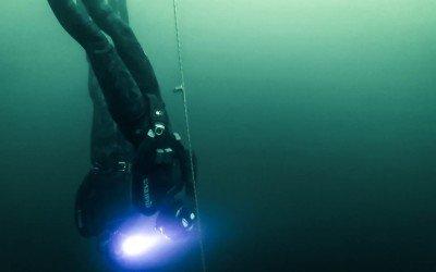 Free-Diving Walden Pond