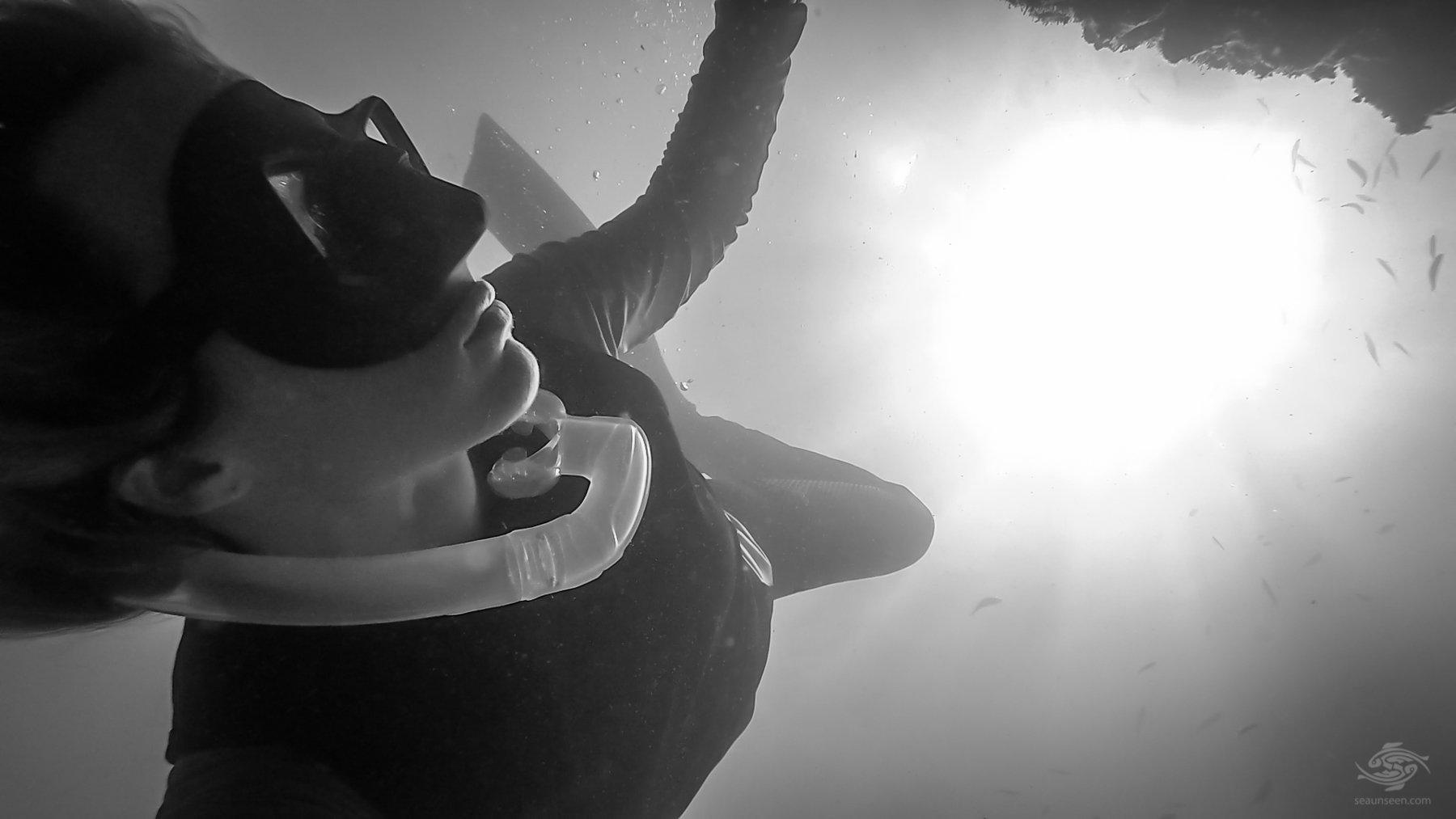 Freediving Dar es Salaam Selfie at Mooring