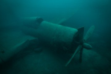 Helldiver Airplane scuba diving