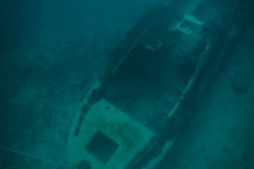Submerged Cruiser scuba diving