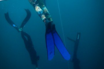 scuba diving freediving